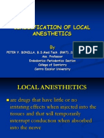 Lecture05c.(Note;) Classification of Oral Anesthesia