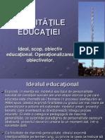 1.FINALITATILE EDUCATIEI