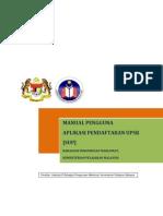 Manual SUP untuk pendaftaran UPSR atas talian