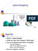 Capital Budgeting Basics