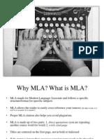 MLA power point