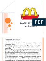 Mcdonald Case Studyanalysis