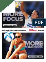 Wilson 2013 Volleyball Team Guide