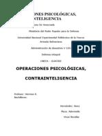 OPERACIONES PSICOLÓGICAS