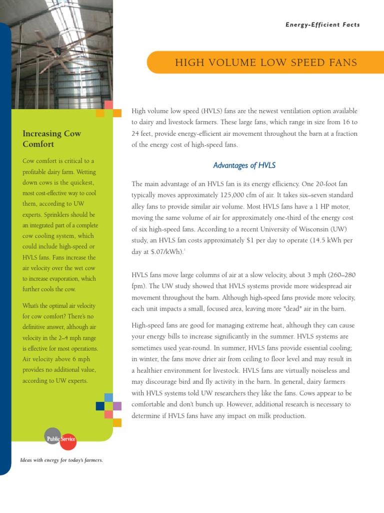 HVLS FANS   Mechanical Fan   Mechanical Engineering