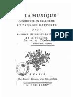 Chabanon,De la musique