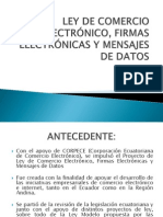 Grupo_4 LEY DE COMERCIO ELECTRÓNICO