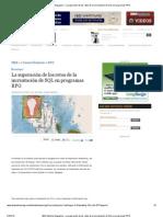 IBM Systems Magazine - La superación de los retos de la incrustación de SQL en programas RPG