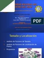 Tamaño y Localización Marcel Chevalier