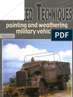 Advanced Techniques - Painting and Weathering Military Vehicles Vol.1