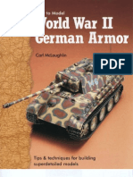 How to Model WWII German Armour