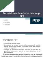 Equipo 2 Transistores de Efecto de Campo Fet