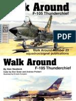 [aviation] - [Squadron-Signal] - [Walk Around n°23] - F-105 Thunderchief