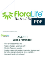Updated Floralife Product Line Jan 4 2013