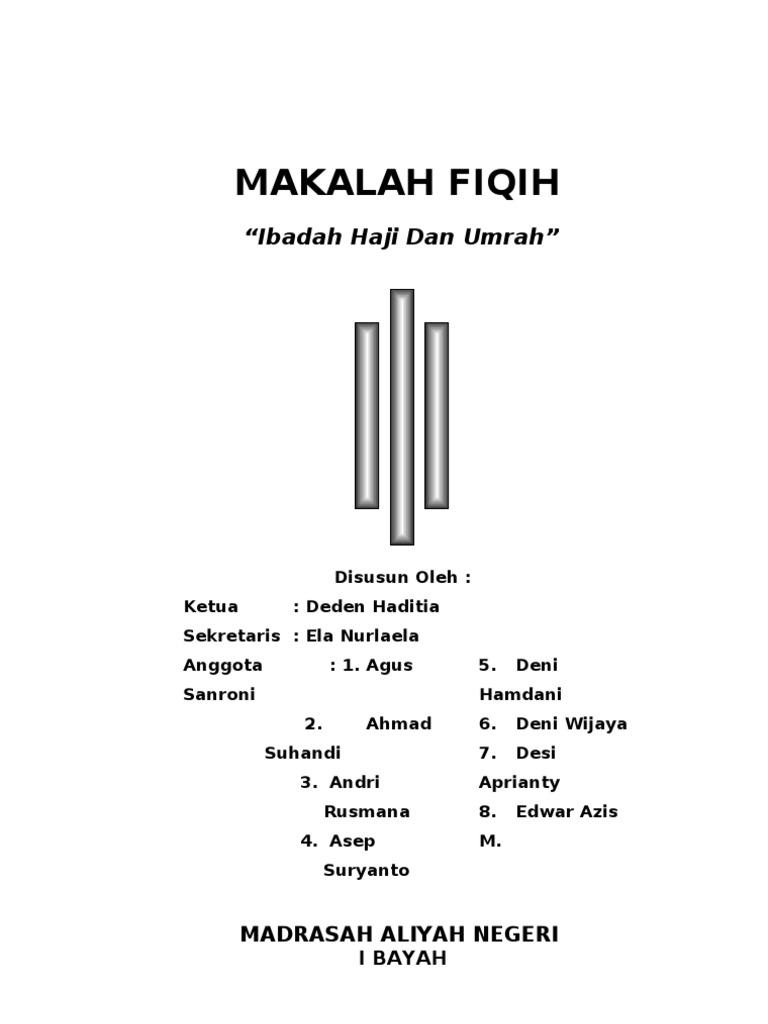 Makalah Haji Dan Umrah