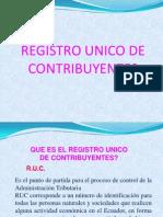 Registro Unico de Contribuyente