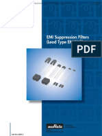 Murata  EMI Suppression Filters (Lead Type)