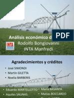 INTA Análisis económico del riego - Bongiovanni R (2)