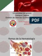 Ramas de La Hematologia