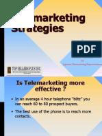 Strategies and Methodologies in TElemarketing