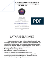 Analisis Gas Buang Kendaraan Bermotor