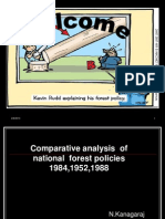 National Forest Policy Comaparison