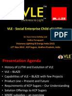 BLAZE Automation and VLE KCP Sugars Presentation