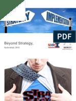 Beyond Strategy 29 Nov 2012