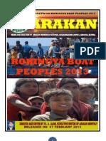 Arakan - Rohingya Boat Peoples 2013