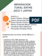 COMPARACION CULTURAL ENTRE MÉXICO Y JAPON