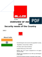 Security Needs of India_BLAZE Automation 2010