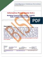 Informatica Data Quality Check
