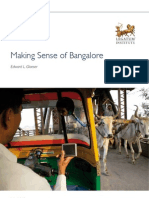Making Sense of Bangalore