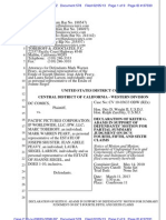 Siegel and Shuster document archive - settlements, other material from Pacific Pictures case