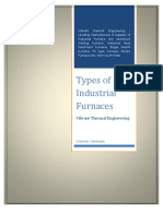 Different Types of Industrial Furnaces