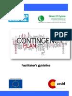 2011-Contingency Plan Facilitator Guideline