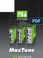 MaxTune Intelligent Servo Drive - PBA Systems