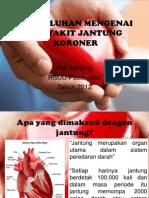 Penyuluhan Mengenai Penyakit Jantung Koroner