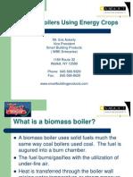 Biomass Boilers Using Energy Crops