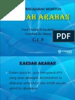 Kaedah Arahan