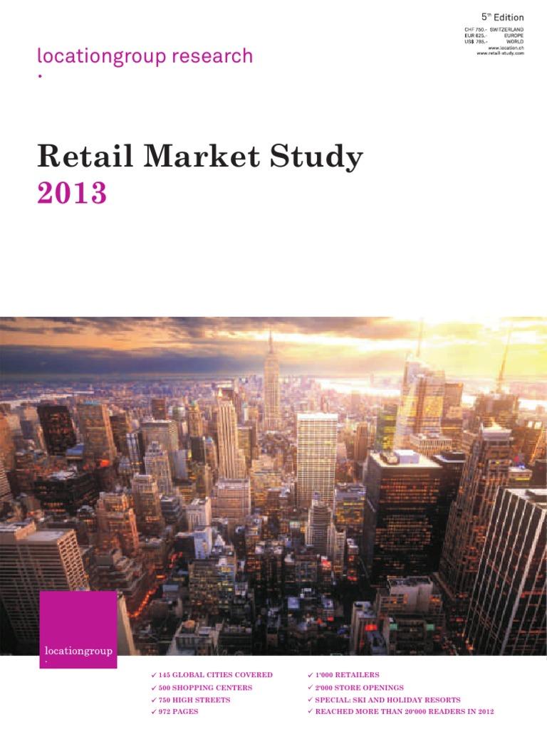 1a913b033f5 Retail Market Study 2013 | Zürich | Retail