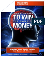 Unclogging Your Brain for More Money Brain Training Workbook and Transcript