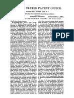 US PATENT 01119732 - NIKOLA TESLA - APPARATUS FOR TRANSMITTING ELECTRICAL ENERGY
