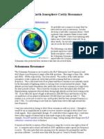 Detecting the Earth-Ionosphere Cavity Resonance (by Joel Gonzalez)