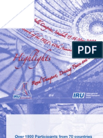 31st IRU World Congress-Istanbul Highlights