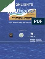 30th IRU World Congress - Dubai Highlights, 2006