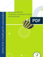 EXT Complaints Management Policy Procedures
