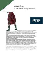 Ancient Highland Dress