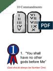 10 Commandments for Kids