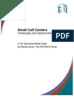 White Paper Small Call Center Website